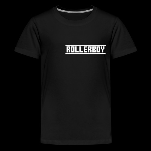 Exclusive ROLLERBOY NAME LABLE - Kids' Premium T-Shirt