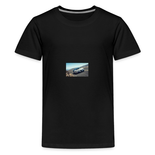 2017 bugatti chiron first ride review car and driv - Kids' Premium T-Shirt