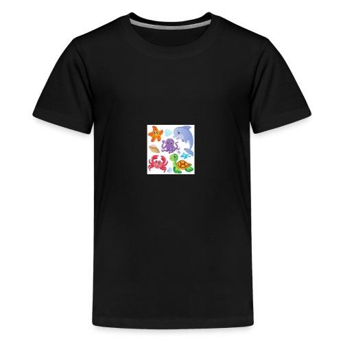 animales animados - Kids' Premium T-Shirt
