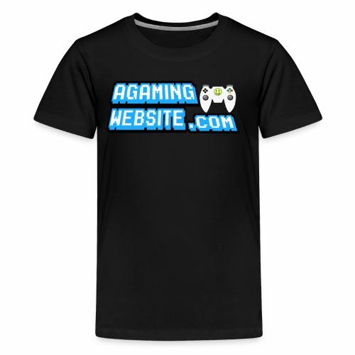 AGamingWebsite.com Logo Design - Kids' Premium T-Shirt
