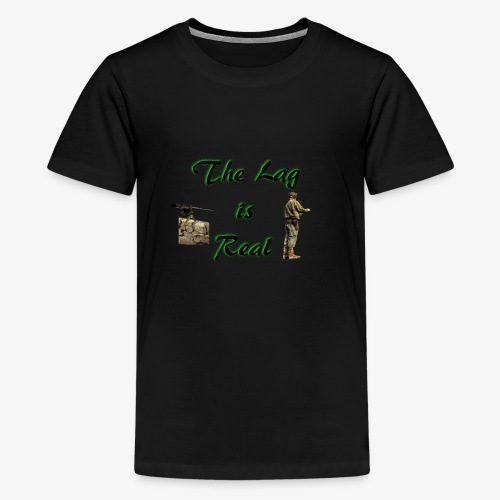 The lag is real - Kids' Premium T-Shirt