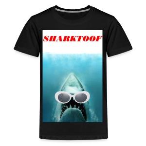 SHARKTOOF SHARK WITH CLOUT - Kids' Premium T-Shirt