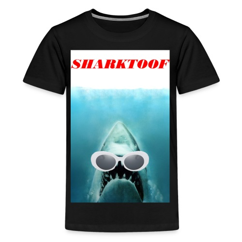 SHARKTOOF SHARK WITH CLOUT - Kids' Premium T-Shirt