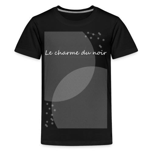 LE CHARME DU NOIR AMOUR - Kids' Premium T-Shirt