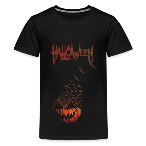 Halloween Jack O' Bats - Kids' Premium T-Shirt