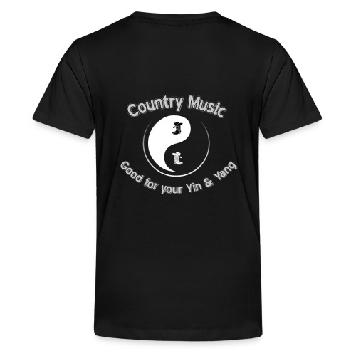 Country Good for your Yin Yang No Background - Kids' Premium T-Shirt