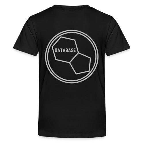 DATABASE [Light Grey] - Kids' Premium T-Shirt