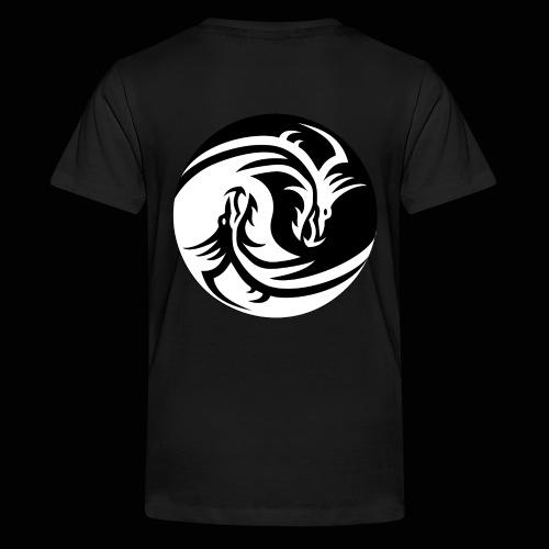 Ying Yang Dragon Merch - Kids' Premium T-Shirt