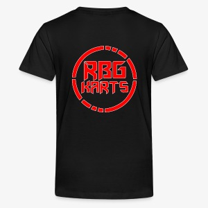 Back Shirt RBG Logo With White - Kids' Premium T-Shirt