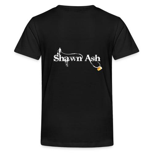 Shawn Ash No Background Logo - Kids' Premium T-Shirt