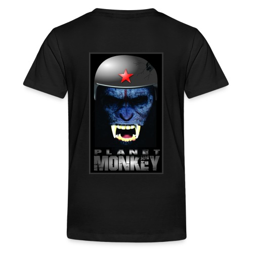 ESTAMPA PLANET MONKEY - Kids' Premium T-Shirt