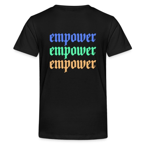 Empower Multi-Colored Special Edition - Kids' Premium T-Shirt