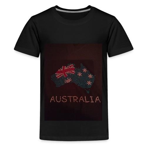 I Love Australia - Kids' Premium T-Shirt