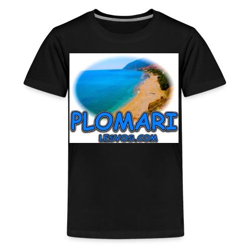Lesvos Plomari jpg - Kids' Premium T-Shirt