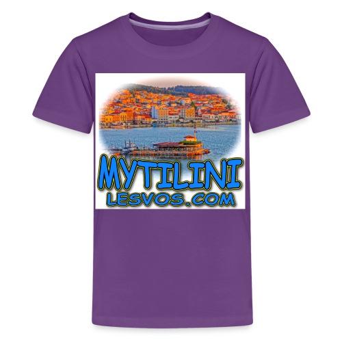LESVOS MYTILINI 2B jpg - Kids' Premium T-Shirt
