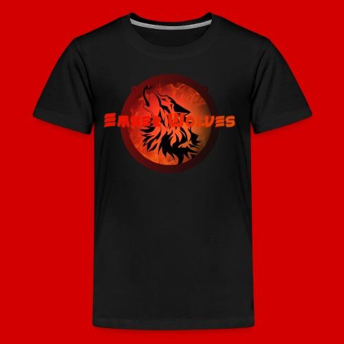 Classic Ember Wolves Logo - Kids' Premium T-Shirt