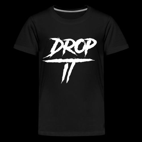 DROP IT Original Logo - Kids' Premium T-Shirt