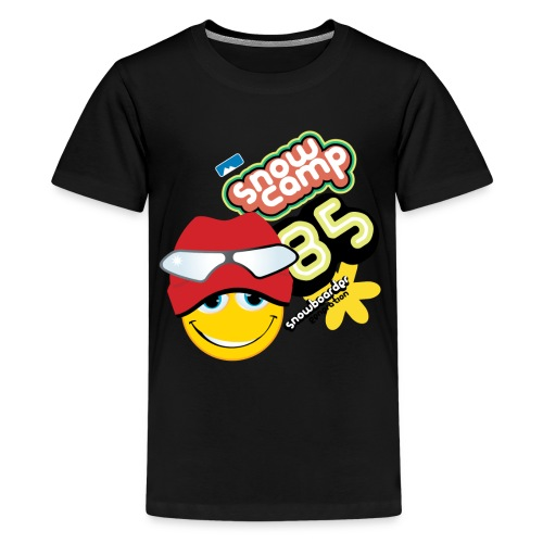 Smile Snow Camp - Kids' Premium T-Shirt