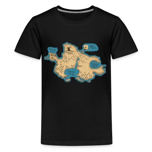 neverlandmap - Kids' Premium T-Shirt