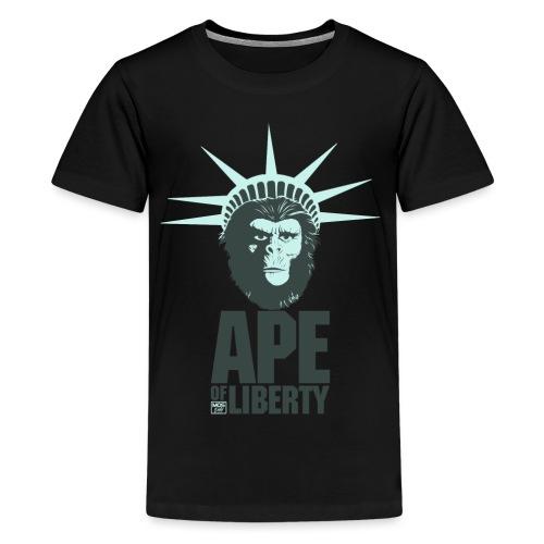 Ape Of Liberty - Kids' Premium T-Shirt