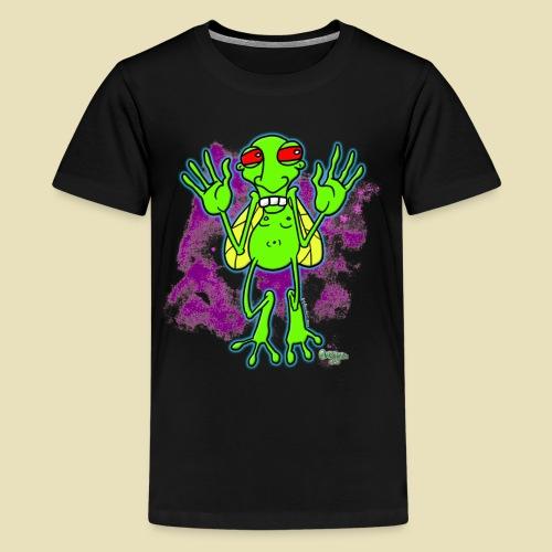 Ongher's UFO Bugg'd - Kids' Premium T-Shirt