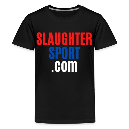 SLAUGHTERSPORT.COM - Kids' Premium T-Shirt
