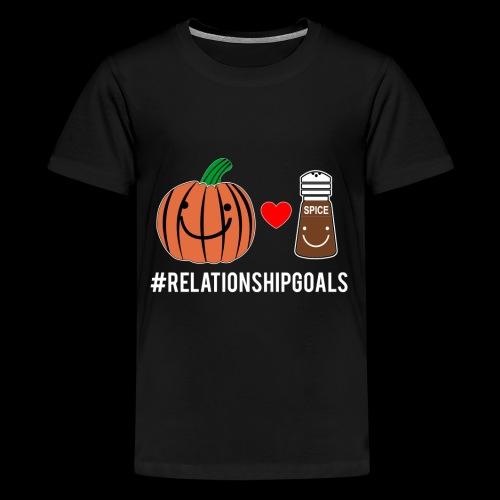 Relationship Goals   Pumpkin Spice Love - Kids' Premium T-Shirt