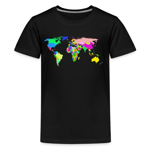 the world tshirt - Kids' Premium T-Shirt