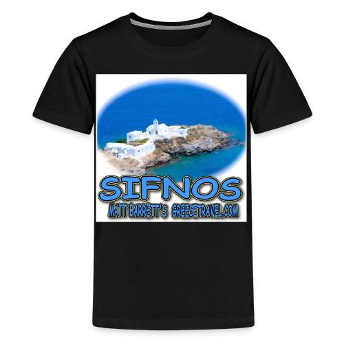 CHRISOPIGI SIFNOS jpg - Kids' Premium T-Shirt
