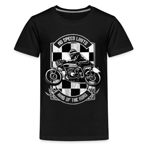 Raisin Hell - Caferacer - Kids' Premium T-Shirt