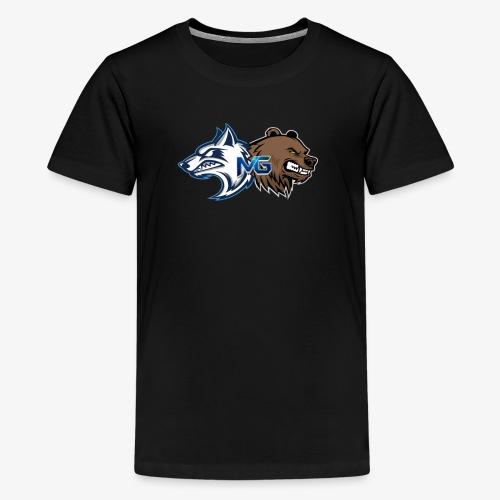 More Gaming LOGO - Kids' Premium T-Shirt
