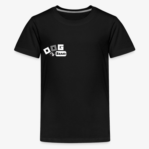 Dog brand logo - Kids' Premium T-Shirt