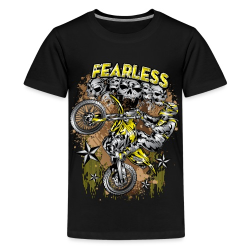 Fearless Motocross Suzuki - Kids' Premium T-Shirt