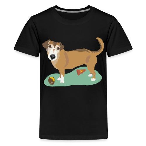 School Spirit and Snacks - Kids' Premium T-Shirt