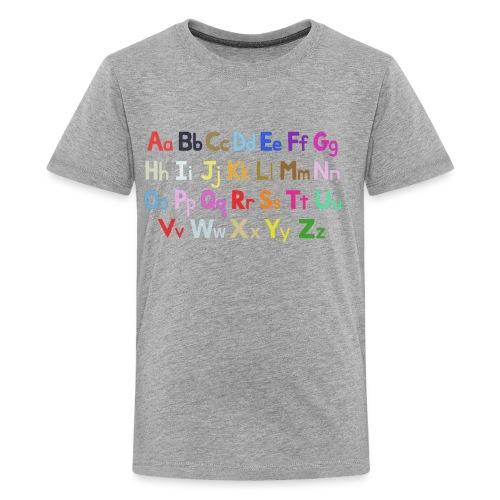 alphabet 2 - Kids' Premium T-Shirt