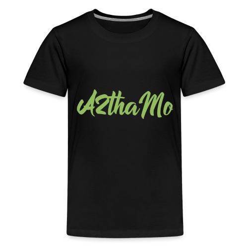A2thaMo Lime Logo - Kids' Premium T-Shirt