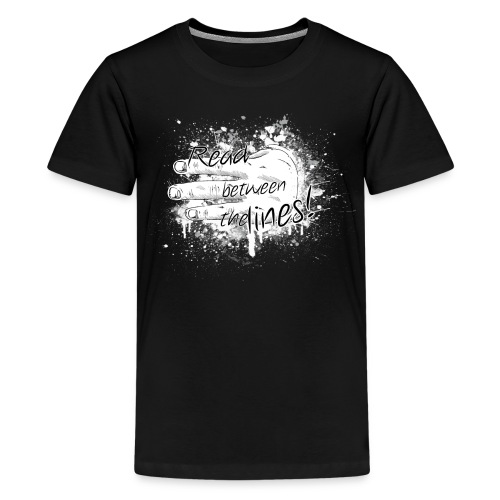 read between the lines - Kids' Premium T-Shirt