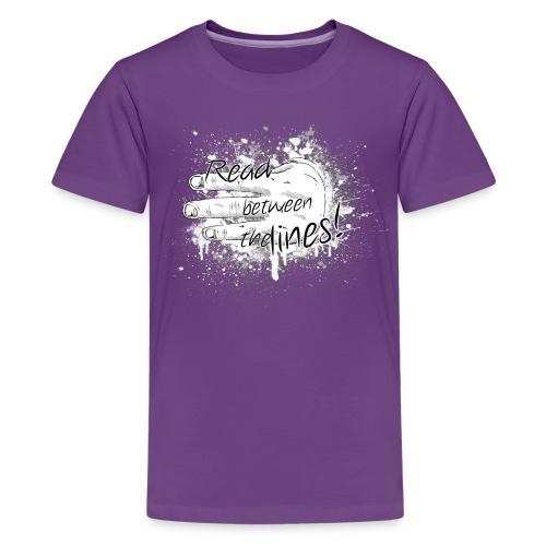 read between the lines - Kids' Premium T-Shirt