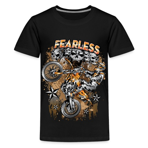 Fearless Motocross KTM - Kids' Premium T-Shirt