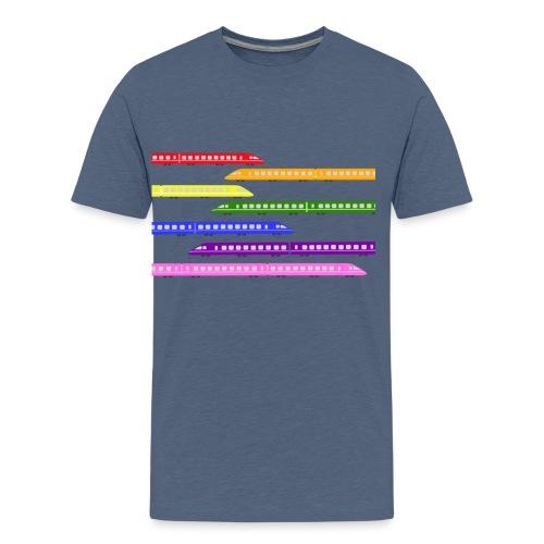 trains t shirt 2 - Kids' Premium T-Shirt