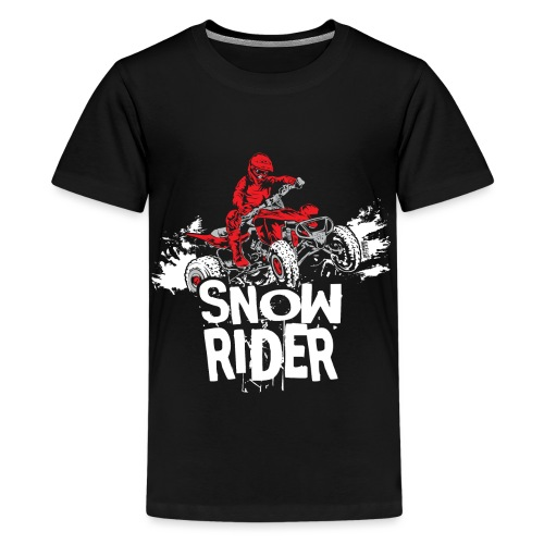 ATV Quad Snow Rider - Kids' Premium T-Shirt