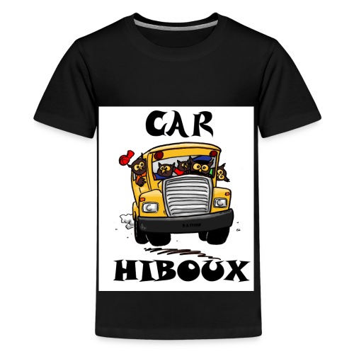 Car-Hibou - Kids' Premium T-Shirt