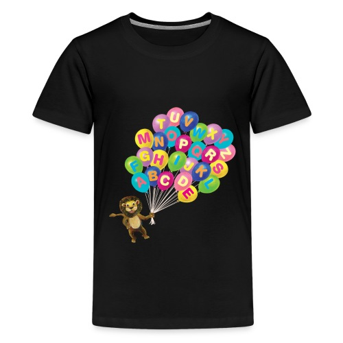Balloons Lion - Kids' Premium T-Shirt
