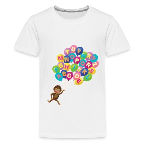 Balloons Monkey - Kids' Premium T-Shirt