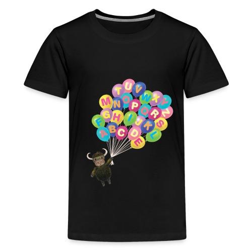 Balloons Yak - Kids' Premium T-Shirt