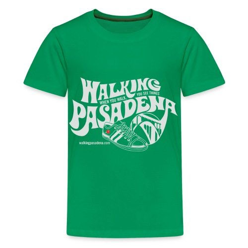 Walking Pasadena Roll-Sleeve Women's T-shirt - Kids' Premium T-Shirt