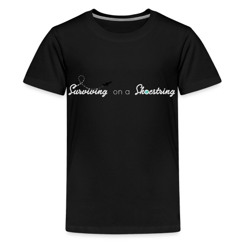 Surviving on a Shoestring - Kids' Premium T-Shirt