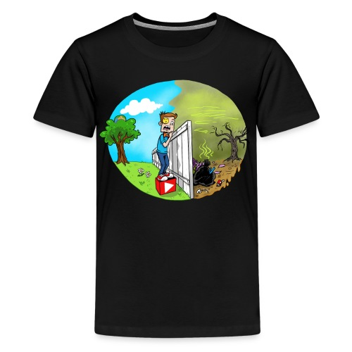 FUNnel Vision THE OTHER SIDE (Adults) - Kids' Premium T-Shirt