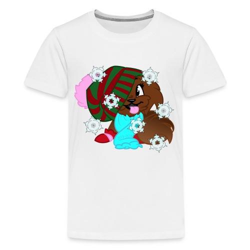 xmas snowflake - Kids' Premium T-Shirt