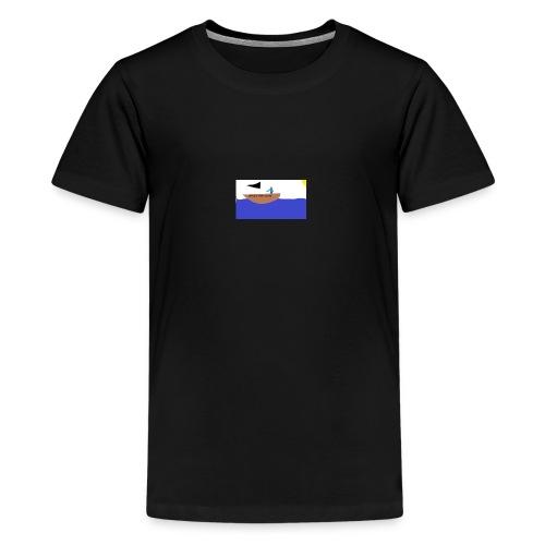 TRASHY BOAT V2 - Kids' Premium T-Shirt